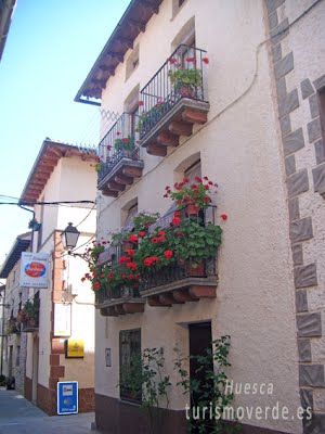 TURISMO VERDE HUESCA. Casa Vicente de Palacio